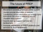 the future of prep