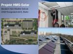 projekt hms solar standort hein moeller schule osz energietechnik ii berlin