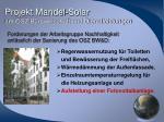 projekt mandel solar am osz b rowirtschaft und dienstleistungen