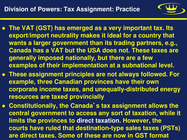federal income tax assignment 3 Encyclopedic in scope, federal taxation of income, estates & gifts offers  part  10 assignments of income and other transactions between related taxpayers.