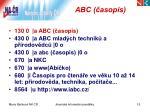 abc asopis