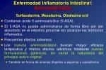 enfermedad inflamatoria intestinal aminosalicilatos