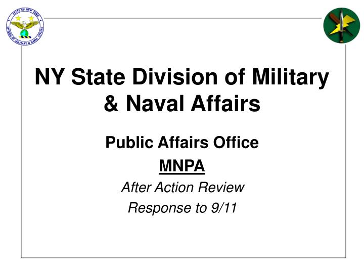ny state division of military naval affairs n.