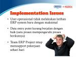 implementation issues1