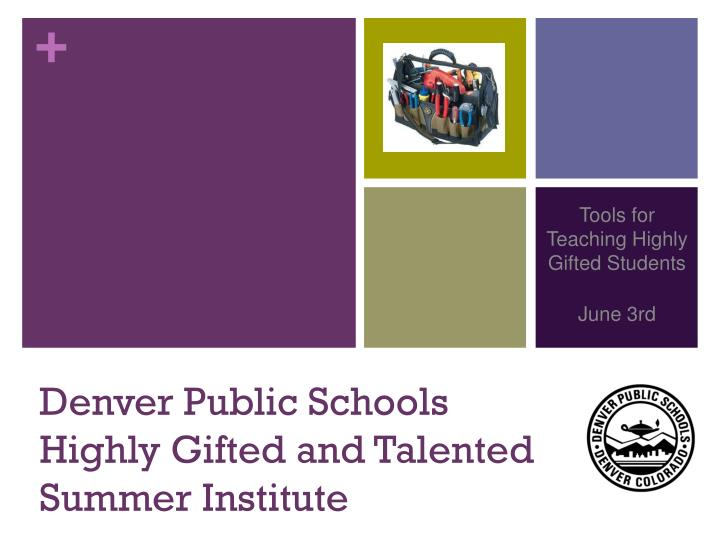 denver public schools highly gifted and talented summer institute n.