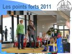 les points forts 20112