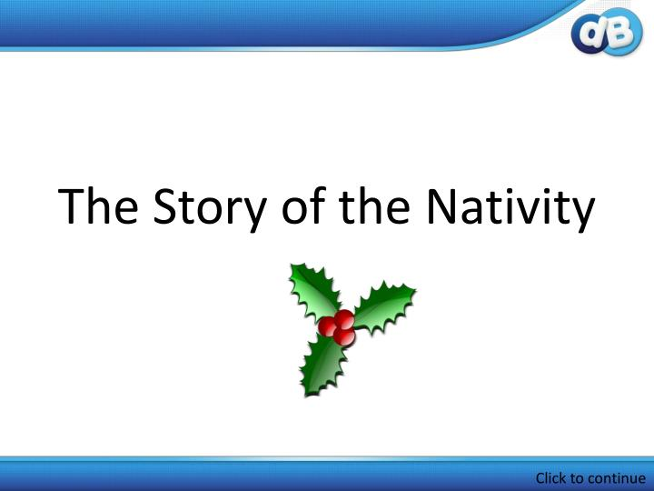 the story of the nativity n.