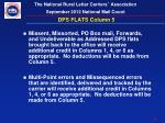 dps flats column 54