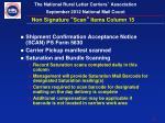 non signature scan items column 151