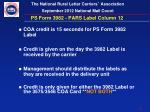 ps form 3982 pars label column 12