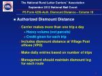 ps form 4239 auth dismount distance column 191