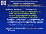 ps form 4239 return receipts column 26