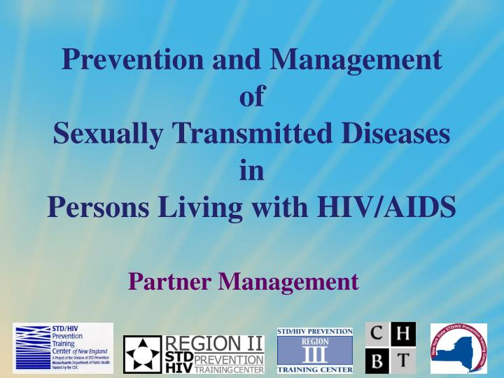 prevention and management of sexually transmitted diseases in persons living with hiv aids n.