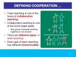 defining cooperation