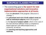 european classes project1