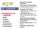 k ey concepts 1