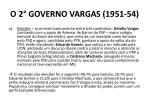 o 2 governo vargas 1951 54