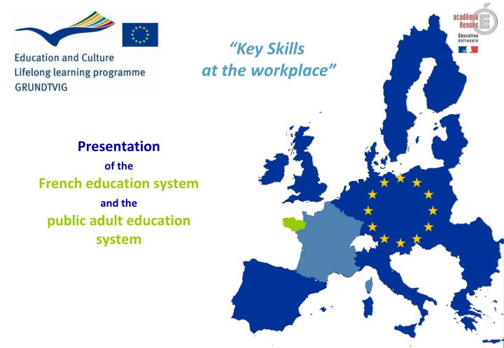 presentation of the french education system and the public adult education system n.