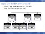logical unit number lun