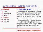 3 th nghi m 3 n c t c d ng v i p 2 o 5