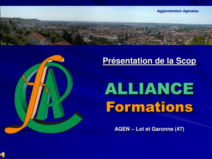 alliance formations n.