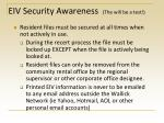 eiv security awareness the will be a test1