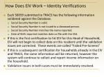 how does eiv work identity verifications