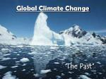 global climate change1