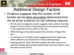 additional design factors
