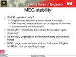 mec stability
