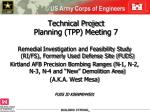 technical project planning tpp meeting 7
