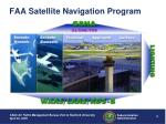 faa satellite navigation program