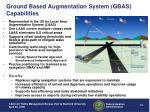ground based augmentation system gbas capabilities