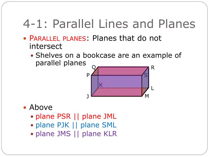 4 1 parallel lines and planes2