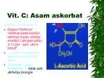 vit c asam askorbat