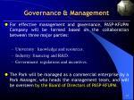 governance management
