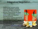 integrative negotiation
