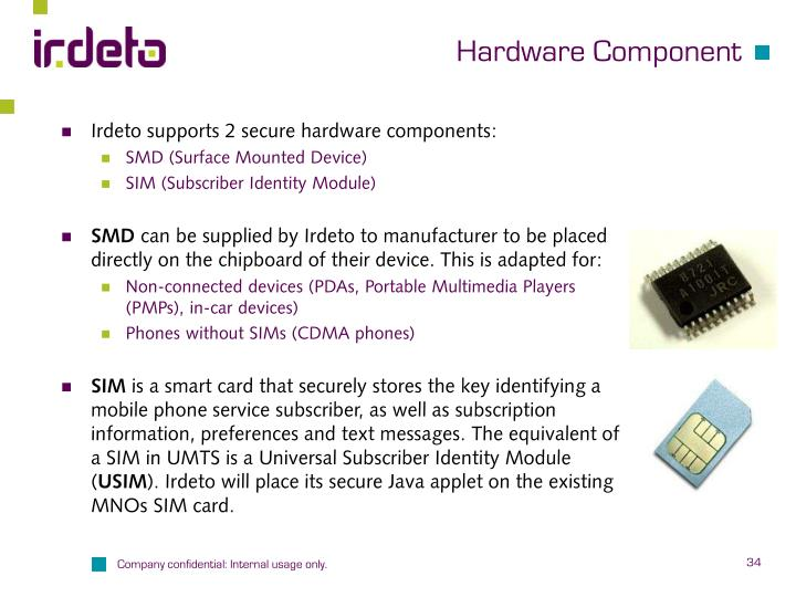 Hardware Component