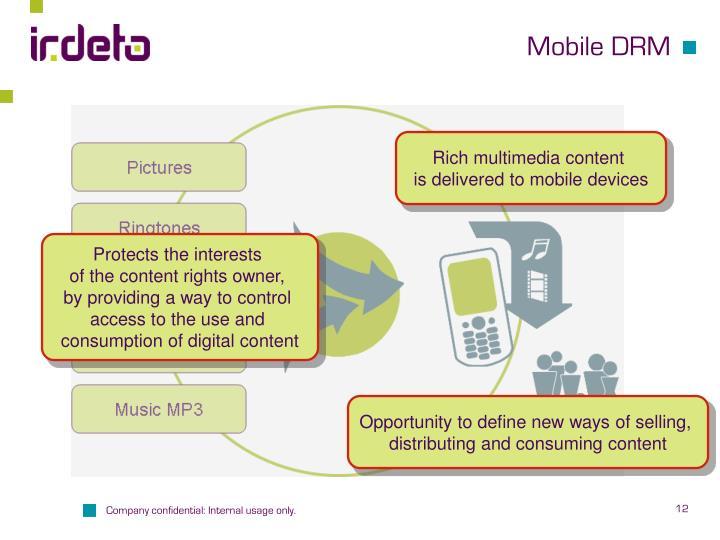 Mobile DRM