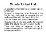 circular linked list1