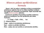 bilances pe as apr in anas formula
