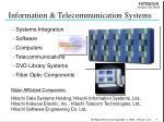 information telecommunication systems