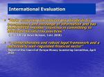 international evaluation1