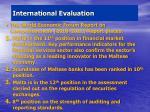 international evaluation2