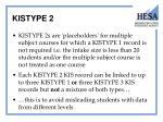 kistype 2