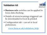 validation kit1
