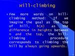 hill climbing2