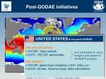 post godae initiatives