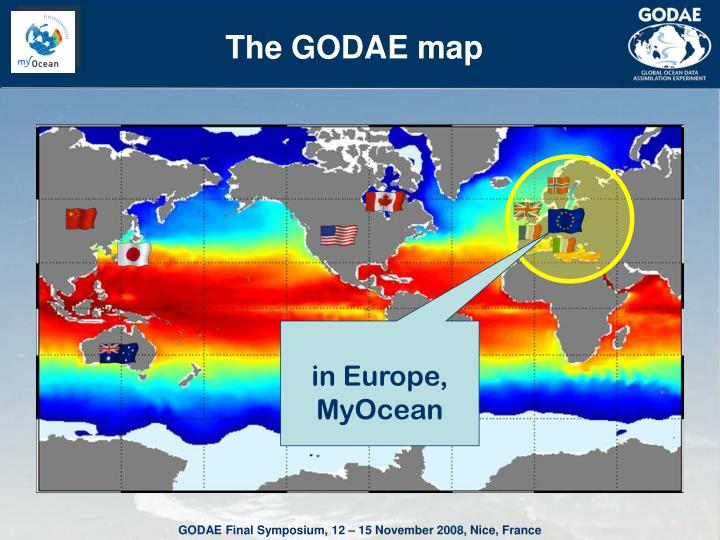 The GODAE map