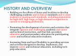 history and overview6